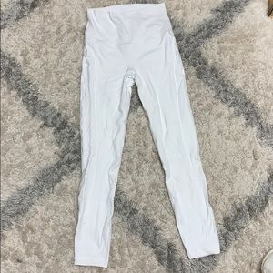 White Lululemon Aligns
